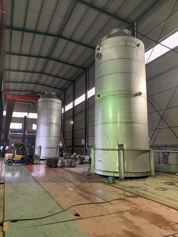 Marine desulfurization tower
